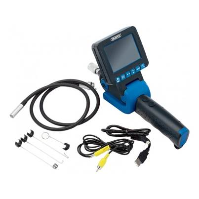 Draper Recording Flexi Inspection Camera With Sd-Hc Card Slot And 8.8mm Dia. Camera Probe