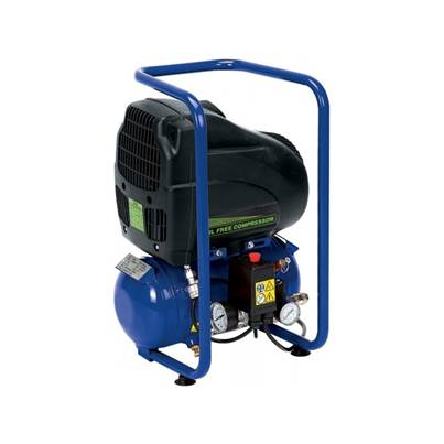 Draper 6L 110V 1.1Kw Oil-Free Air Compressor