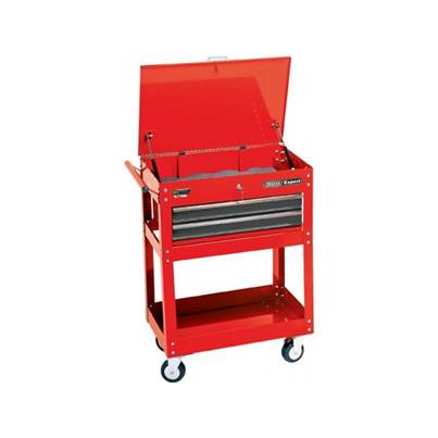Draper Expert 2 Tier Tool Trolley With Two Drawers
