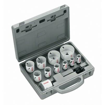 Bosch 14-piece Progressor holesaw set