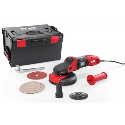 FLEX Flex SUPRAFLEX SE 14-2 125 Set, the sanding specialist for metal, stone, painted surfaces, wood - 240v only
