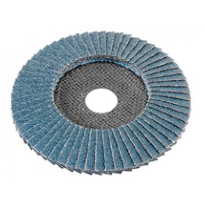FLEX Flap disc for metal and stainless steel, cambered. 125mm, 80 Grit (10)