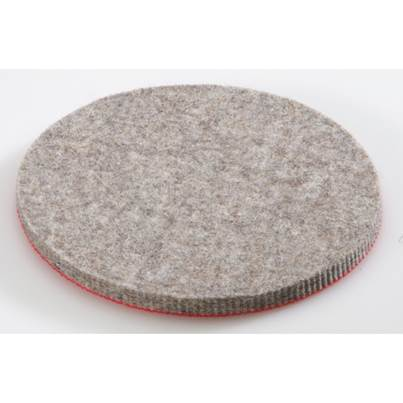 FLEX Natural fibre felt pad hard 125mm (5)