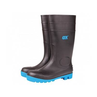 Ox Safety Steel Toe Wellington Boots