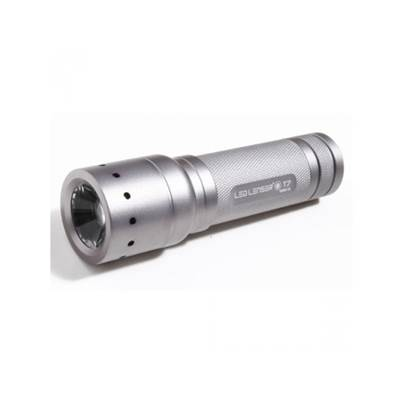 LED Lenser T7 Tactical Torch (Titanium) in a Gift Box