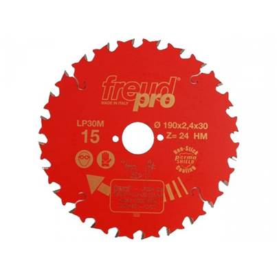 Freud LP30M015 General Purpose Saw Blade190 X 30 X 24T
