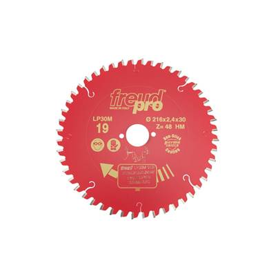 Freud LP30M019 Portable Saw Blade 216 X 30 X 48T