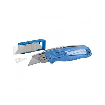 Draper 02895 Expert Retractable Trimming Knife + 5 Blades