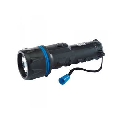 Draper 43072 Rubber Torch uses 2 x D Batteries (not included)