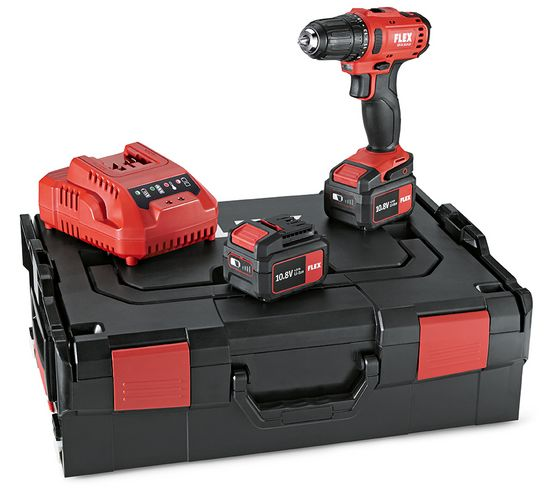 DD 2G 10.8-LD Drill Driver Kit 2 x 2.5Ah Batteries