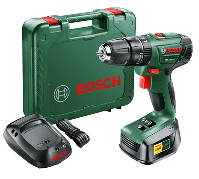 Image of PSB 1800 LI-2 Lithium-ion cordless two-speed combi Drill 1 x Battery