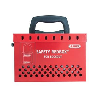 ABUS Mechanical B835 Safety Redbox™ For Group Lockout