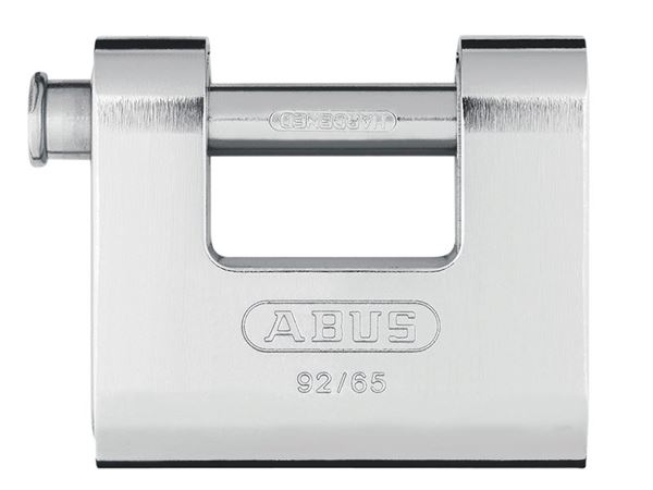 ABUS Mechanical 92 Series Monoblock Shutter Padlock