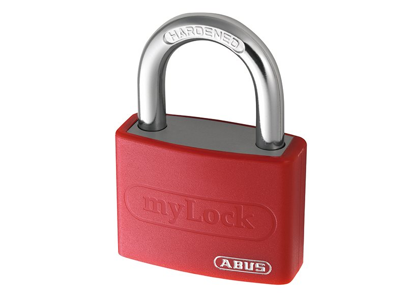 T65AL Series Aluminium Coloured Padlock