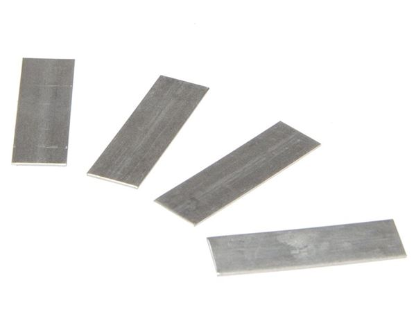 ALM Manufacturing GH005 Aluminium Lap Strips Pack of 50