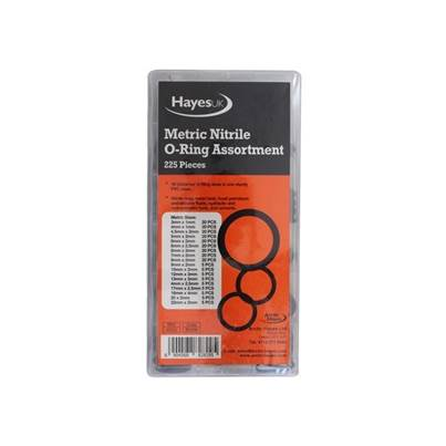 Arctic Hayes O Ring Metric Selection Box 225 Piece
