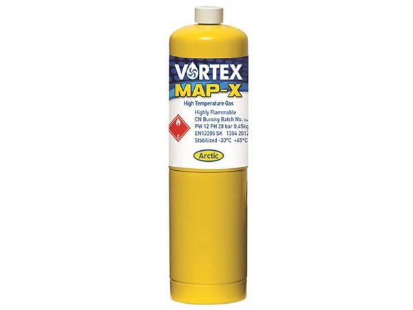 Arctic Hayes Vortex Map-X Brazing Gas Cylinder