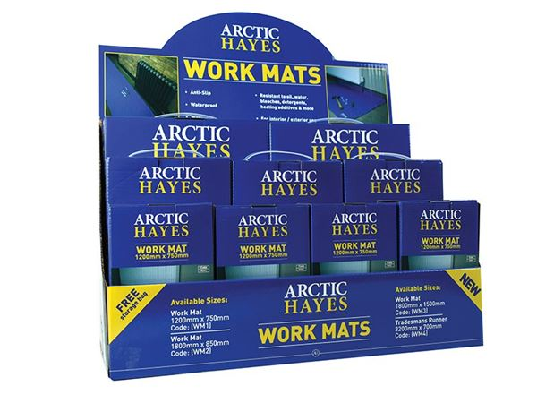 Arctic Hayes Work Mat Display Box