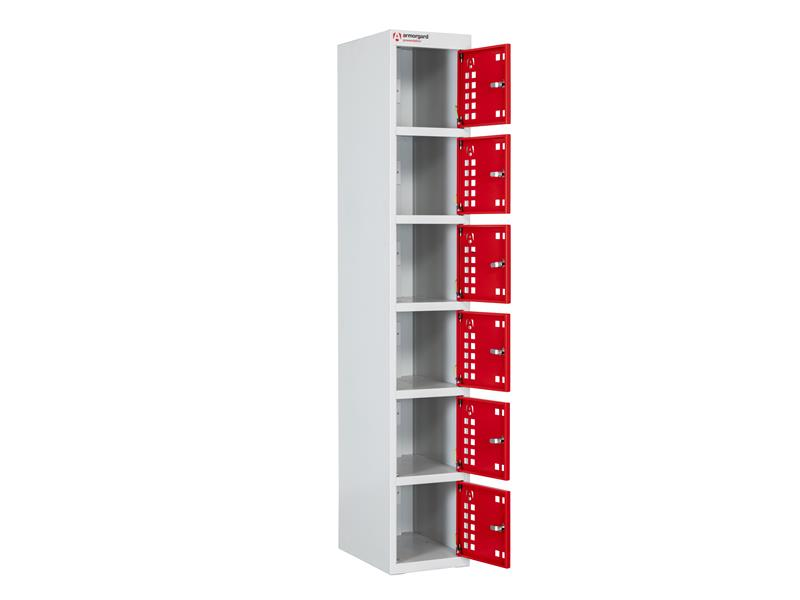 PowerStation™ 6 Door Charging Locker 300 x 450 x 1800mm