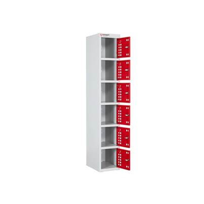 Armorgard PowerStation™ 6 Door Charging Locker 300 x 450 x 1800mm