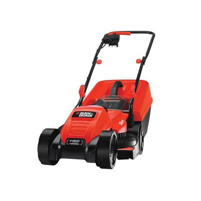 Black & Decker EMAX32S Electric Rotary Lawnmower 32cm 1200 Watt 240 Volt