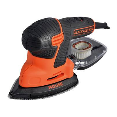 Black & Decker KA2500K-GB Compact Mouse® Sander 120 Watt 240 Volt