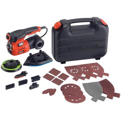 Black & Decker KA280K 4-in-1 Multi Sander 220 Watt 240 Volt