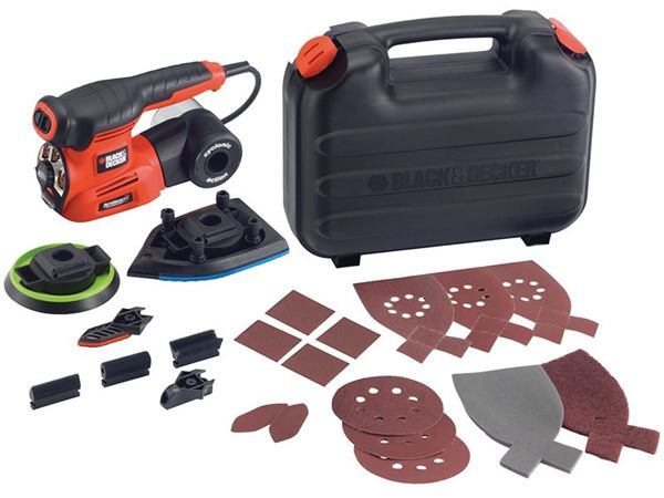 Black & Decker KA280K 4-in-1 Multi Sander 220W 240V