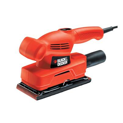 Black & Decker KA300 1/3 Sheet Orbital Sander 135 Watt 240 Volt