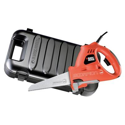 Black & Decker KS890EK Scorpion Powered Handsaw & Kitbox 400W 240V