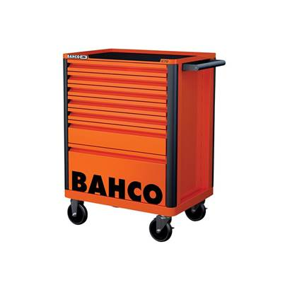 Bahco 7 Drawer B Tool Trolley K Orange