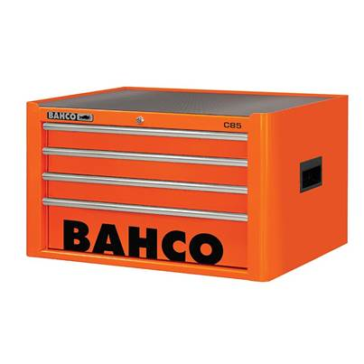 Bahco 4 Drawer B Top Chest K Orange