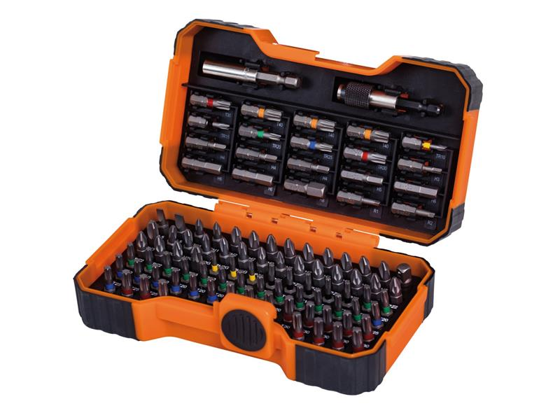 59/S100BC Colour Coded Bit Set, 100 Piece