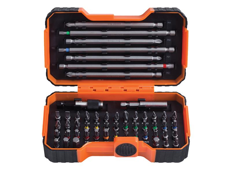 59/S54BC Colour Coded Bit Set, 54 Piece