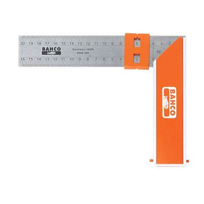 Bahco 9048 Aluminium Block & Steel Try Square