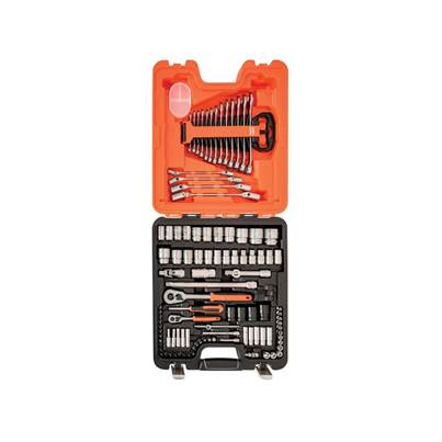 Bahco S106 Socket & Spanner Set of 106 Metric 1/4 & 1/2in Drive