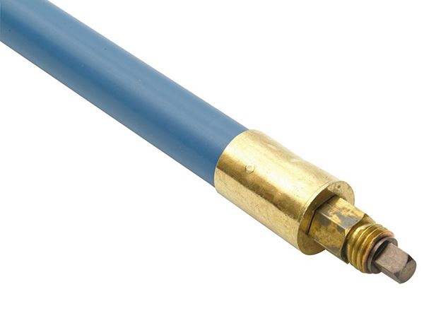 Bailey Lockfast Blue Polypropylene Rod