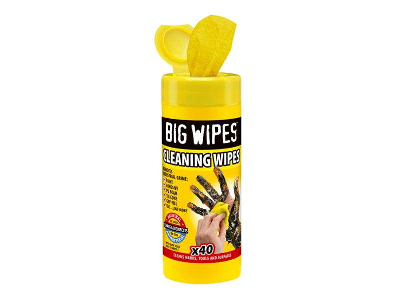 Industrial Multi-Purpose Wipes Tub of 40