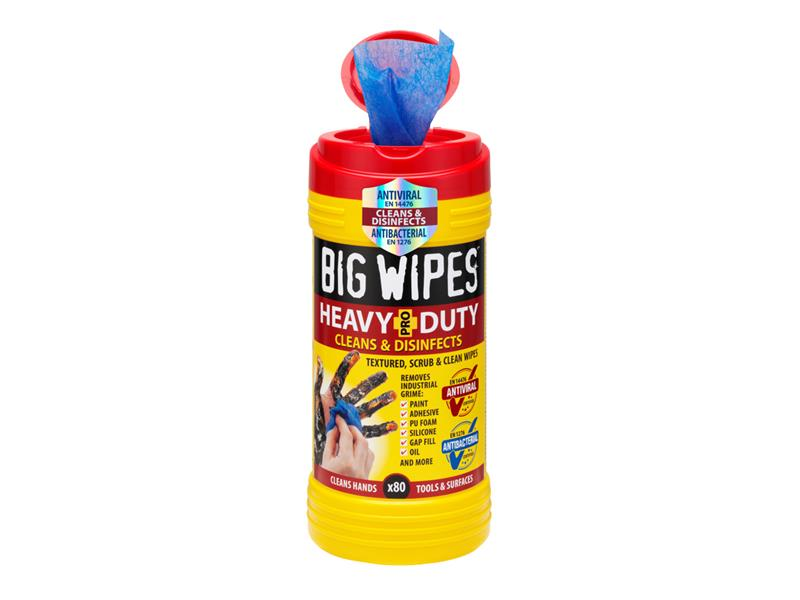 4x4 Heavy-Duty Cleaning Wipes