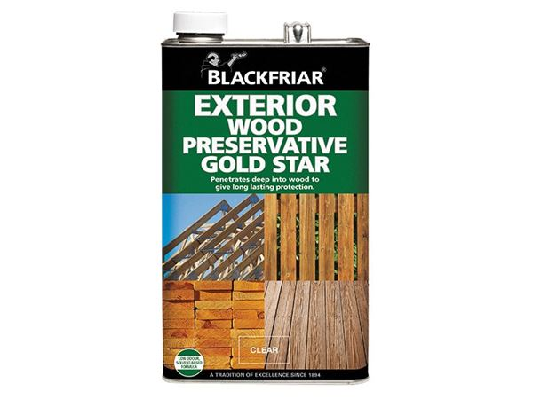 Blackfriar EXT Wood Preserver Gold Star