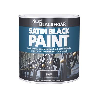 Blackfriar Satin Black Paint