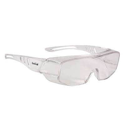 Bolle Safety Overlight OTG Goggles - Clear