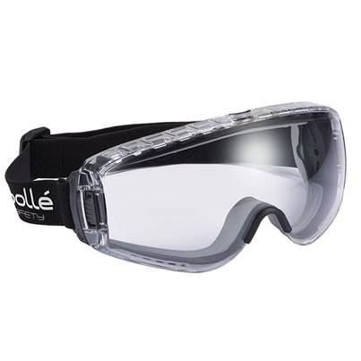 Bolle Safety Pilot Safety Goggles Clear