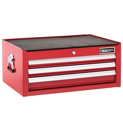 Expert Mid Section Chest 3 Drawer - Red