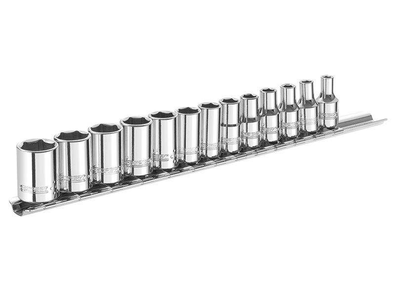 Socket Set of 13 Metric 1/4in Drive