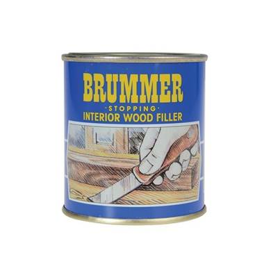 Brummer Yellow Label Interior Stopping, Medium Tins