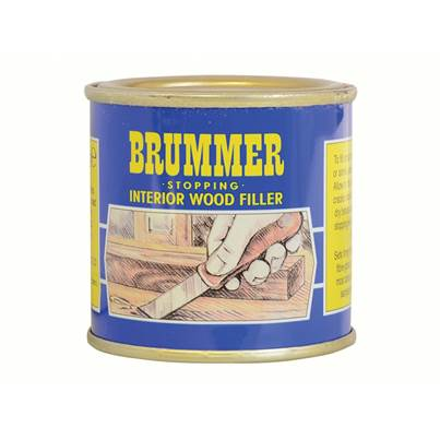 Brummer Yellow Label Interior Stopping, Small Tins