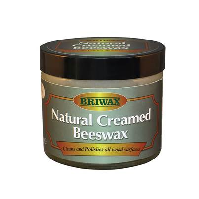 Briwax Natural Creamed Beeswax Clear 250ml