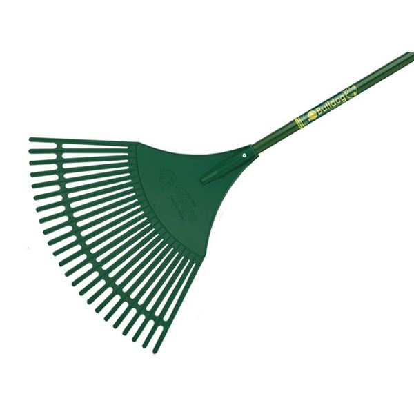 Bulldog Evergreen Plastic Leaf Rake