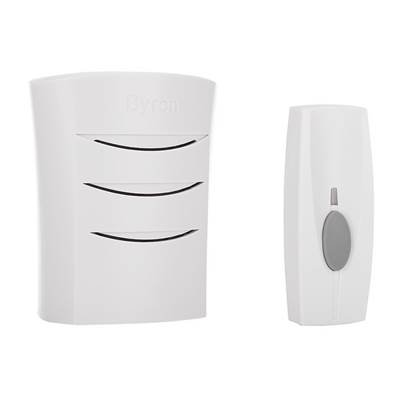 Byron BY101 Portable Wireless Door Chime Kit 50m